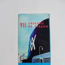 Líneas de navegación: PR-1104 CATALOGO DE BARCO.COMPAÑIA YBARRA .BARCO CABO SAN VICENTE.AÑO 1967.. Lote 161084834