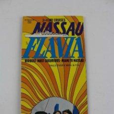 Líneas de navegación: PR-1226. FOLLETO NASSAU FLAVIA. 1969. . Lote 165349390