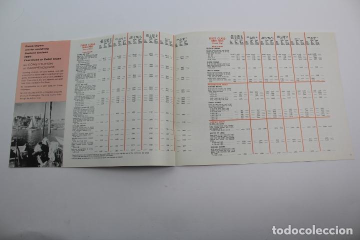 Líneas de navegación: PR-1297. NFORMACION SUNLANE CRUISES TO EUROPE AND THE MEDITERRANEAN 1967. - Foto 3 - 175990358