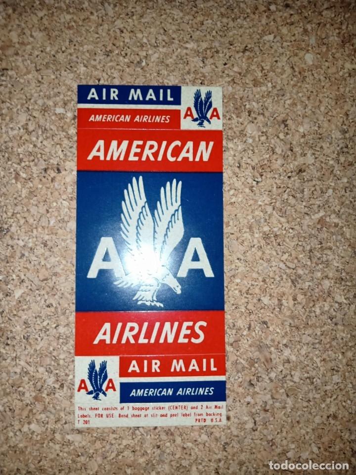 Líneas de navegación: Antiguo billete de avión, EASTERN AIR LINES. - Foto 5 - 176519878
