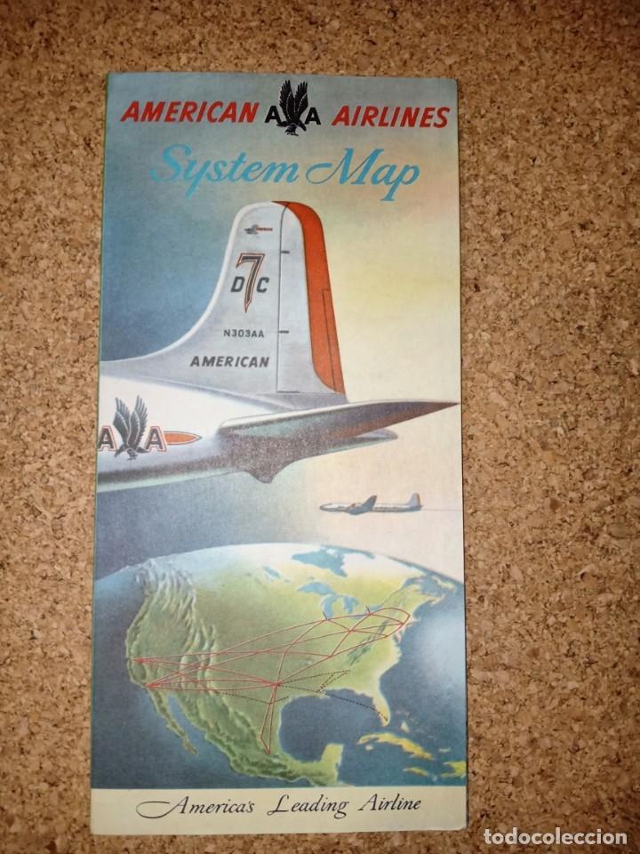Líneas de navegación: Antiguo billete de avión, EASTERN AIR LINES. - Foto 6 - 176519878