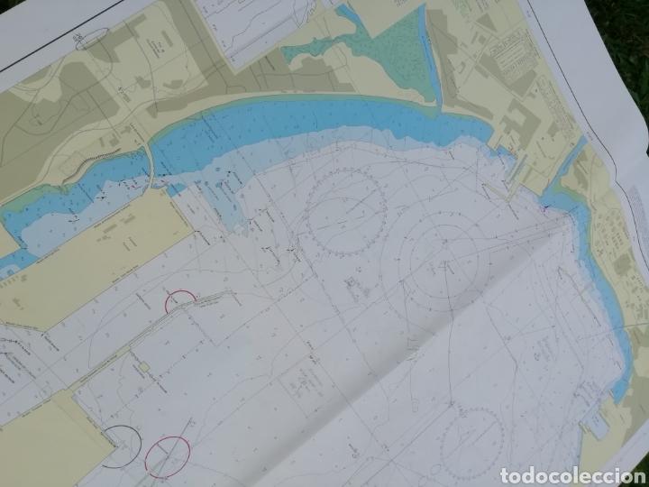 Líneas de navegación: Carta Nautica Algeciras 1'20 x 80 cms - Foto 2 - 177030329