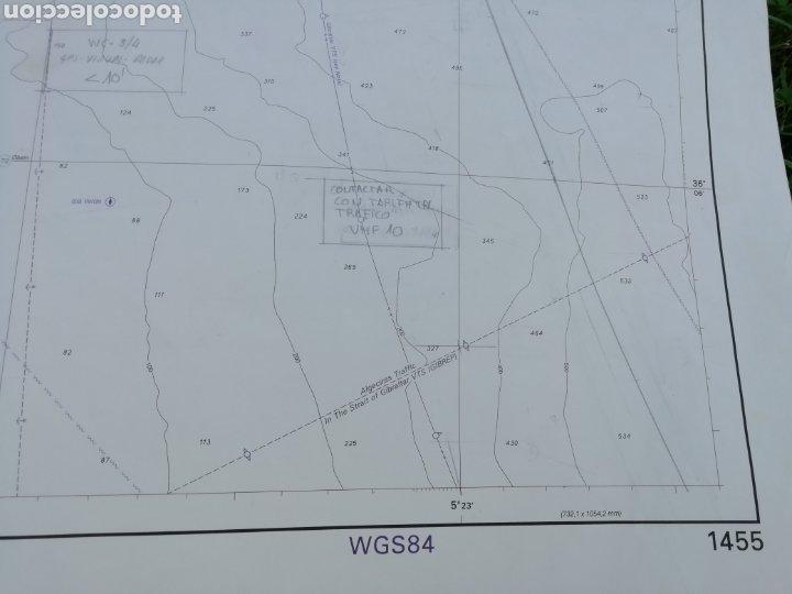Líneas de navegación: Carta Nautica Algeciras 1'20 x 80 cms - Foto 6 - 177030329