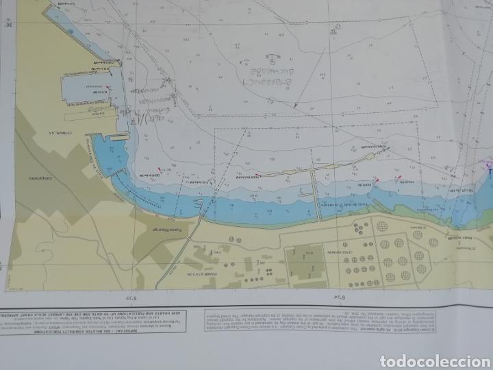 Líneas de navegación: Carta Nautica Algeciras 1'20 x 80 cms - Foto 7 - 177030329