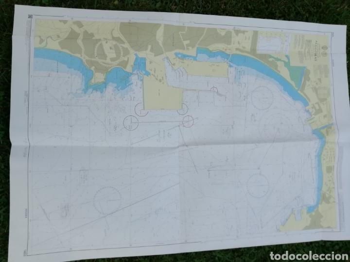 Líneas de navegación: Carta Nautica Algeciras 1'20 x 80 cms - Foto 8 - 177030329