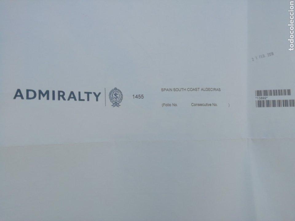 Líneas de navegación: Carta Nautica Algeciras 1'20 x 80 cms - Foto 9 - 177030329