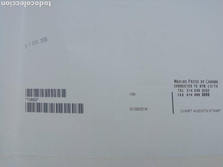 Líneas de navegación: Carta Nautica Algeciras 1'20 x 80 cms - Foto 10 - 177030329