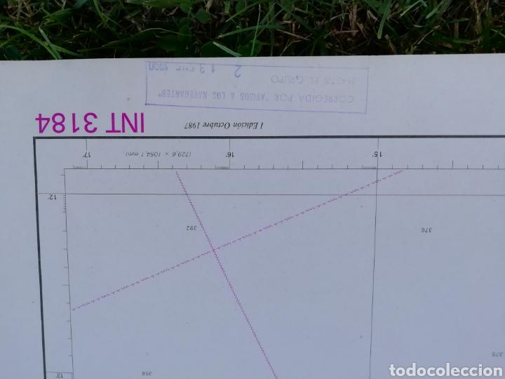 Líneas de navegación: Carta Nautica Barcelona 114 x 80 cms - Foto 4 - 212324735