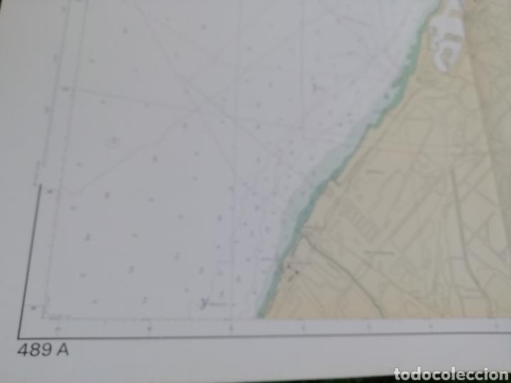 Líneas de navegación: Carta Nautica Barcelona 114 x 80 cms - Foto 6 - 212324735
