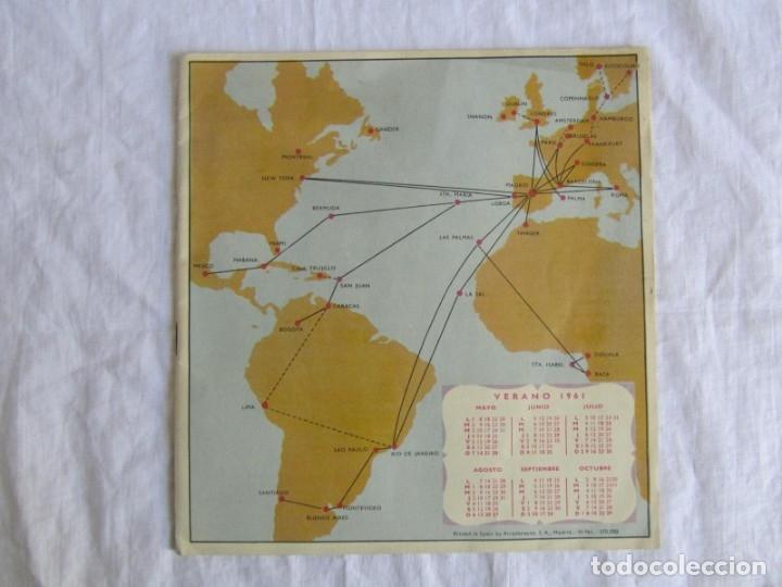 Líneas de navegación: Horarios y tarifas de Iberia, verano de 1961 - Foto 2 - 177716310