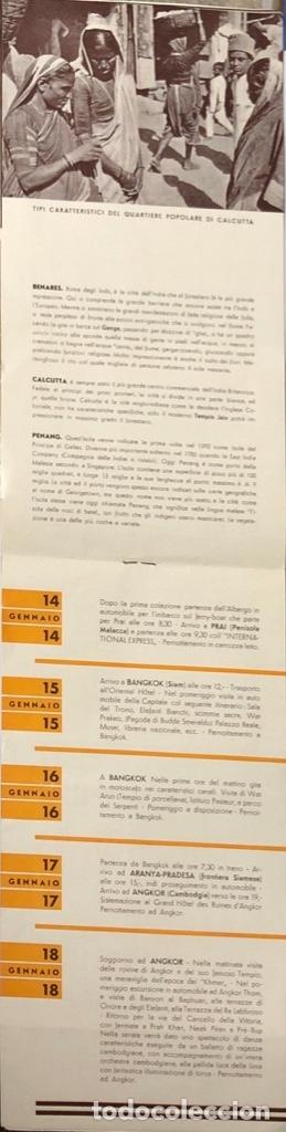 Líneas de navegación: COMPAÑOA CHIARIVA. CRUCERO DE ITALIA 1934. SIAM. CAMBOYA. MALASIA. INDIA. - Foto 5 - 178183188