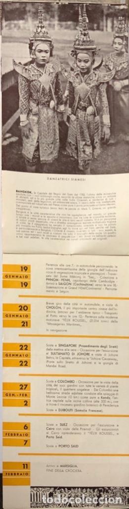 Líneas de navegación: COMPAÑOA CHIARIVA. CRUCERO DE ITALIA 1934. SIAM. CAMBOYA. MALASIA. INDIA. - Foto 6 - 178183188