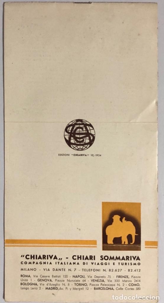 Líneas de navegación: COMPAÑOA CHIARIVA. CRUCERO DE ITALIA 1934. SIAM. CAMBOYA. MALASIA. INDIA. - Foto 9 - 178183188