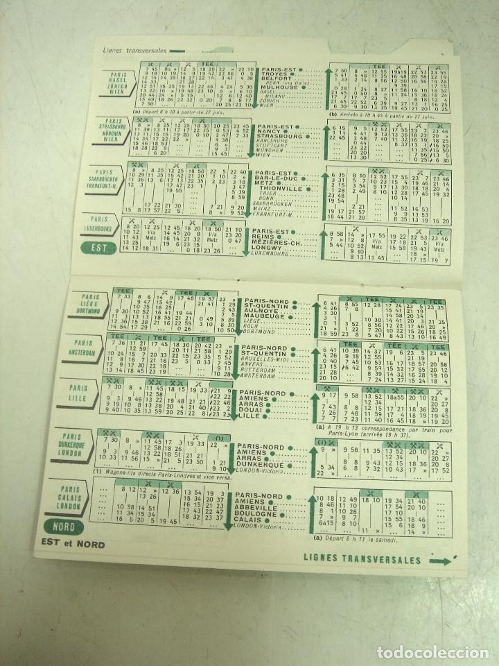 Líneas de navegación: 8X FOLLETOS LINEAS AEREAS TWA IBERIA TAP CANADIAN TRAINS ..ETC-HORARIOS TARIFAS TURISMO PLANO MAPA - Foto 8 - 180453975