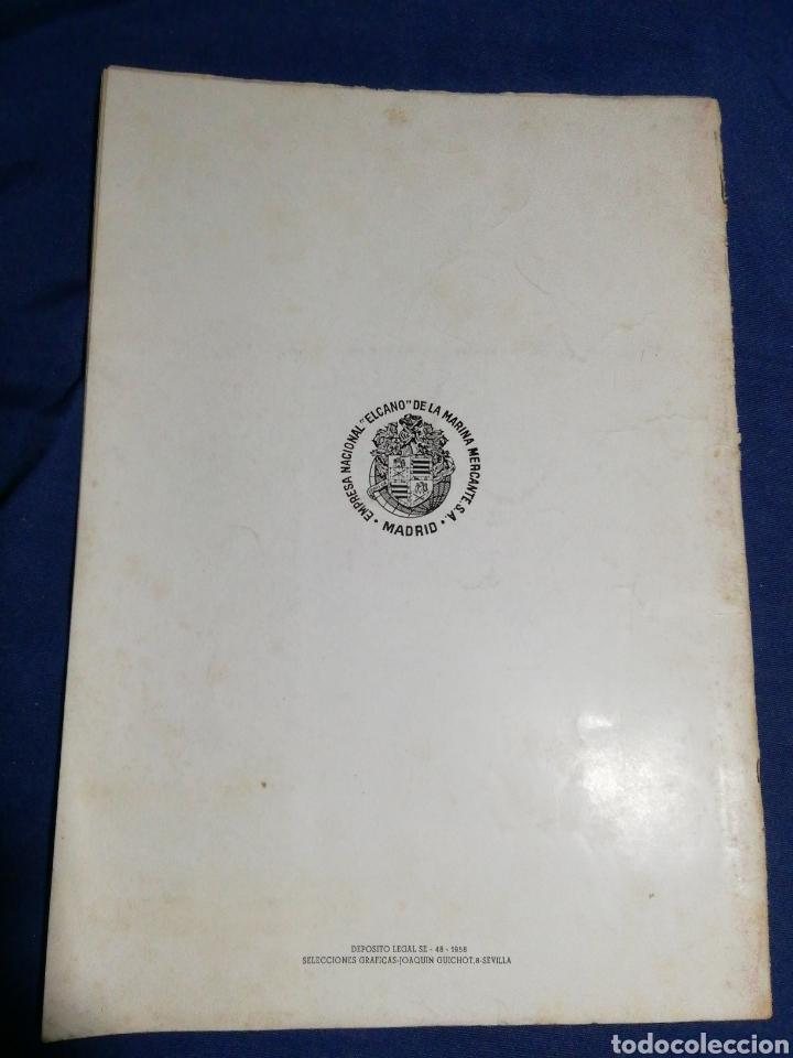 Líneas de navegación: 1958. CATÁLOGO DEL BUQUE DE CARGA GENERAL TIPO YC. ENORME PLANO. EMPRESA NACIONAL ELCANO. SEVILLA - Foto 2 - 181096683