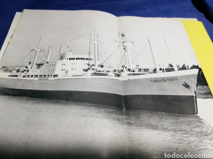 Líneas de navegación: 1958. CATÁLOGO DEL BUQUE DE CARGA GENERAL TIPO YC. ENORME PLANO. EMPRESA NACIONAL ELCANO. SEVILLA - Foto 4 - 181096683