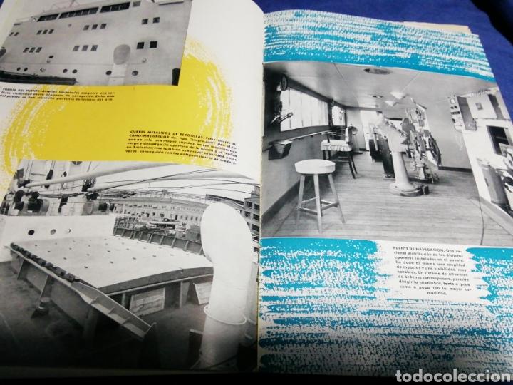 Líneas de navegación: 1958. CATÁLOGO DEL BUQUE DE CARGA GENERAL TIPO YC. ENORME PLANO. EMPRESA NACIONAL ELCANO. SEVILLA - Foto 5 - 181096683
