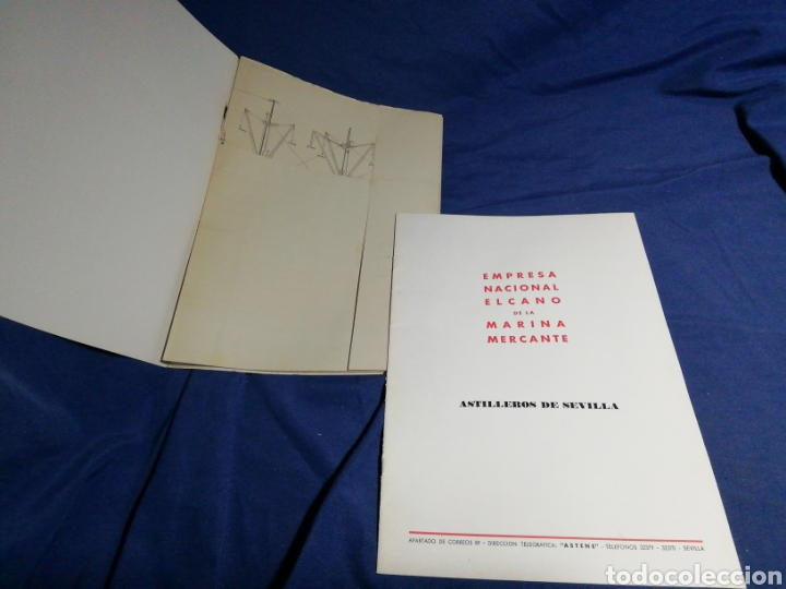 Líneas de navegación: 1958. CATÁLOGO DEL BUQUE DE CARGA GENERAL TIPO YC. ENORME PLANO. EMPRESA NACIONAL ELCANO. SEVILLA - Foto 6 - 181096683