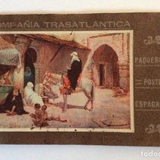 Líneas de navegación: FOLLETO PUBLICITARIO EN FRANCÉS. SERVICIOS, FLOTA BUQUES ESPAÑA Y LÍNEAS. COMPAÑÍA TRASATLANTICA.. Lote 182406981