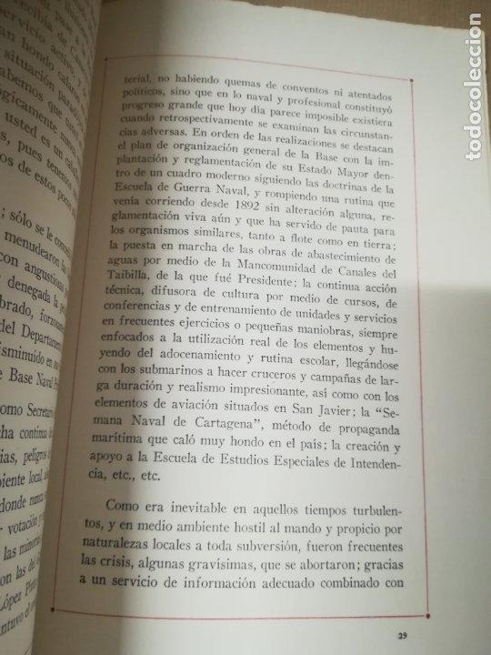 Líneas de navegación: NOTAS BIOGRAFICAS DE JUAN CERVERA VALDERRAMA TOPETE Y CABRERA. 1º MARQUES CASA CERVERA. 1961 - Foto 4 - 182941618