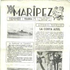 Líneas de navegación: 1698.-TRASATLANTICOS CABO SAN ROQUE /SAN VICENTE-MARIPEZ DIARIO DE A BORDO-CHUMY CHUMEZ-SERAFIN. Lote 184556075