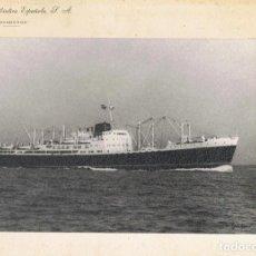 Líneas de navegación: COMPAÑIA TRASATLANTICA ESPAÑOLA . BARCO COVADONGA. ANTIGUA FOTO ORIGINAL. 23.5 X 16 CM.. Lote 186315401
