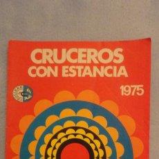 Líneas de navegación: CRUCEROS CON ESTANCIA.FERERICO C. ENRICO C. ANDREA C. FRANCA C. COSTA AMATORI SPA.GENOVA 1975. Lote 187111111