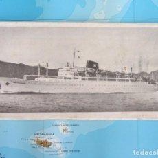 Líneas de navegación: PLANOS DE ACOMODACIONES DE LOS TRASATLANTICOS CABO SAN ROQUE-CABO SAN VICENTE. 1967. Lote 187640153
