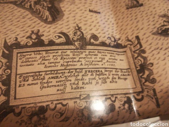 Líneas de navegación: Representación de 1495 de la ciudad de Angra y alrededores - Foto 2 - 189379923