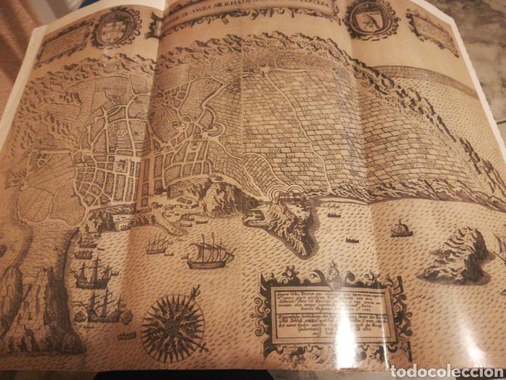 REPRESENTACIÓN DE 1495 DE LA CIUDAD DE ANGRA Y ALREDEDORES (Coleccionismo - Líneas de Navegación)