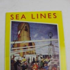 Líneas de navegación: PR-1378. SEA LINES, THE MAGAZINE OF THE OCEAN LINER SOCIETY, SPRING 2005.. Lote 189626310