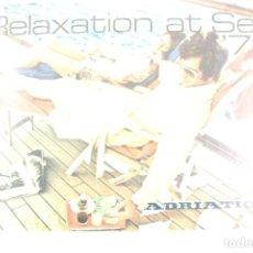 Líneas de navegación: PR-1522. RELAXATION AT SEA. ADRIATICA. 1972.. Lote 190979962