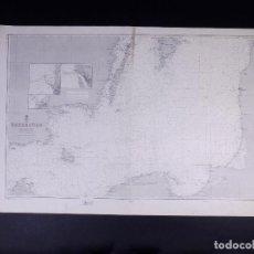 Líneas de navegación: ÖSTERSÖEN. CARTA NAUTICA 1965. Lote 190988833