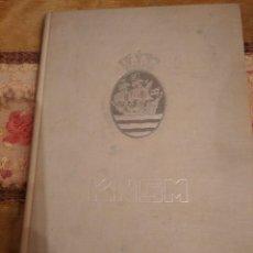 Líneas de navegación: COMPAÑÍA REAL HOLANDESA DE VAPORES KNSM LABORES CORONADAS 1851-1956. Lote 192293865