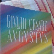 Líneas de navegación: ANTIGUO FOLLETO.CIVLIO CESARE AVGVSTVS.SOCIETA NAVIGAZIONE.ITALIA.GENOVA.. Lote 193754650