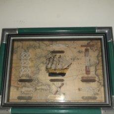 Líneas de navegación: CUADRO MARINERO DE NUDOS IRLANDÉS. Lote 194309612