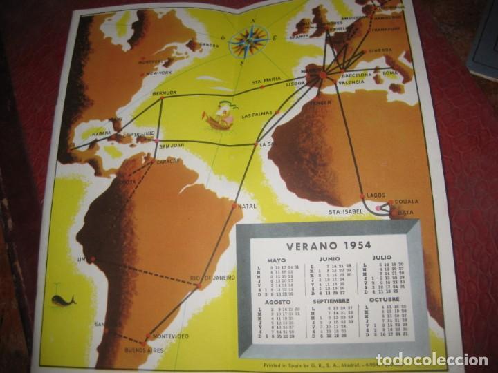 Líneas de navegación: catalogo folleto iberia lineas aereas españolas 1954 . instrucciones rutas 22pag - Foto 3 - 194689475