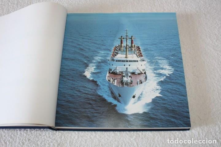 Líneas de navegación: TRASMEDITERRANEA, TODO AVANTE (75 ANIVERSARIO). MARINO GOMEZ SANTOS - 1ª EDICIÓN 1991 - Foto 6 - 194950332