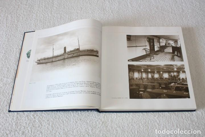 Líneas de navegación: TRASMEDITERRANEA, TODO AVANTE (75 ANIVERSARIO). MARINO GOMEZ SANTOS - 1ª EDICIÓN 1991 - Foto 7 - 194950332