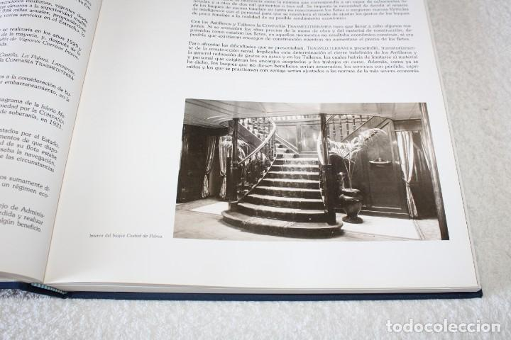 Líneas de navegación: TRASMEDITERRANEA, TODO AVANTE (75 ANIVERSARIO). MARINO GOMEZ SANTOS - 1ª EDICIÓN 1991 - Foto 9 - 194950332