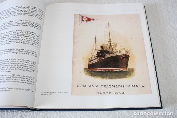 Líneas de navegación: TRASMEDITERRANEA, TODO AVANTE (75 ANIVERSARIO). MARINO GOMEZ SANTOS - 1ª EDICIÓN 1991 - Foto 10 - 194950332