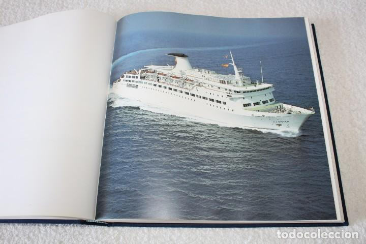 Líneas de navegación: TRASMEDITERRANEA, TODO AVANTE (75 ANIVERSARIO). MARINO GOMEZ SANTOS - 1ª EDICIÓN 1991 - Foto 13 - 194950332