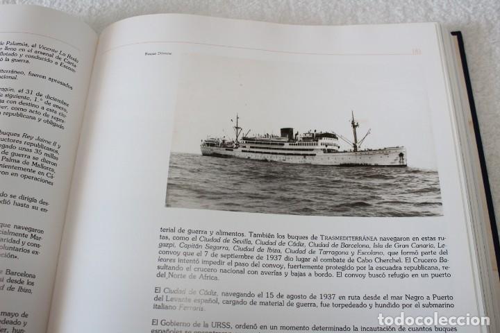 Líneas de navegación: TRASMEDITERRANEA, TODO AVANTE (75 ANIVERSARIO). MARINO GOMEZ SANTOS - 1ª EDICIÓN 1991 - Foto 15 - 194950332