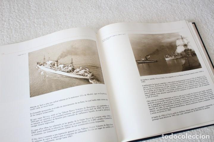 Líneas de navegación: TRASMEDITERRANEA, TODO AVANTE (75 ANIVERSARIO). MARINO GOMEZ SANTOS - 1ª EDICIÓN 1991 - Foto 17 - 194950332