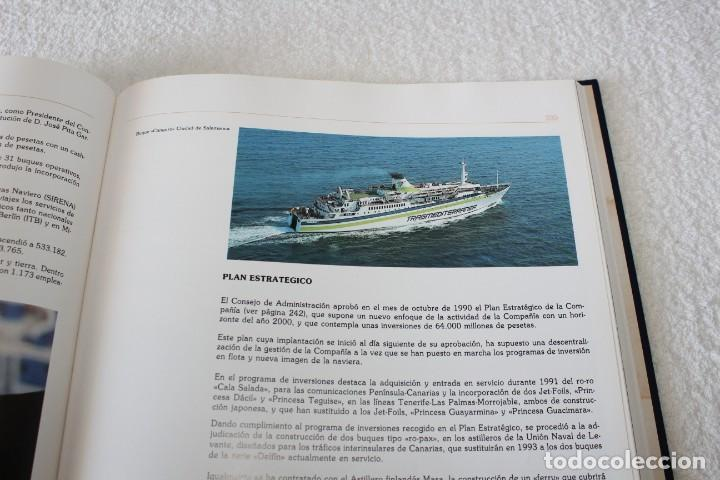 Líneas de navegación: TRASMEDITERRANEA, TODO AVANTE (75 ANIVERSARIO). MARINO GOMEZ SANTOS - 1ª EDICIÓN 1991 - Foto 18 - 194950332