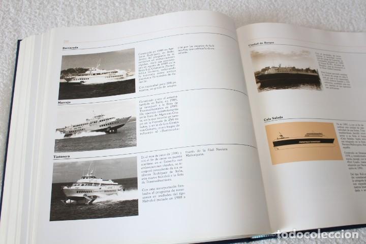 Líneas de navegación: TRASMEDITERRANEA, TODO AVANTE (75 ANIVERSARIO). MARINO GOMEZ SANTOS - 1ª EDICIÓN 1991 - Foto 19 - 194950332