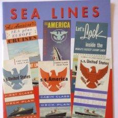 Líneas de navegación: PR-1702. REVISTA SEA LINES. THE MAGAZINE 0F THE OCEAN LINER SOCIETY.. Nº 14. SPRING 1999.. Lote 195039622