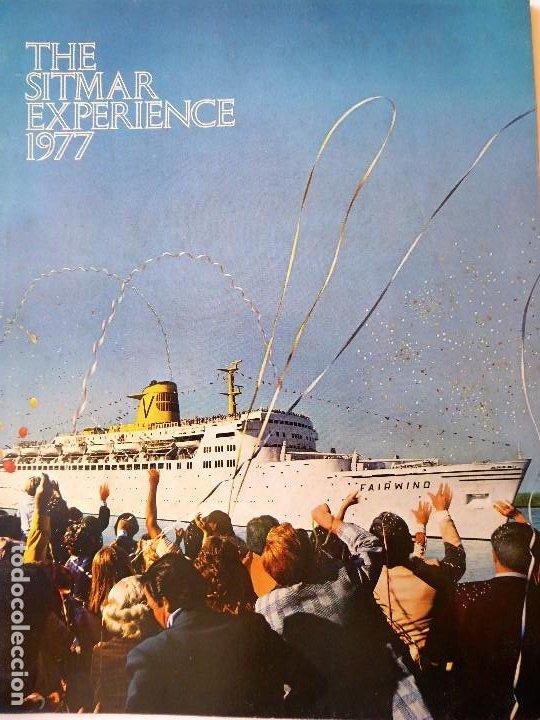 PR-1708. SITMAR CRUICES. 1977 THE SITMAR EXPERIENCE. TODOS LOS BARCOS DE LA COMPAÑIA. (Coleccionismo - Líneas de Navegación)