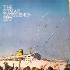 Líneas de navegación: PR-1708. SITMAR CRUICES. 1977 THE SITMAR EXPERIENCE. TODOS LOS BARCOS DE LA COMPAÑIA.. Lote 195055272