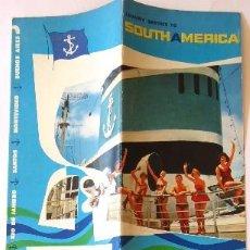 Líneas de navegación: PR-1714. ARGENTINE STATE LINE. RIO DE LA PLATA, RIO JACHAL, RIO TUNUYÁN. AÑO 1951. 2 CATALOGOS.. Lote 195057481